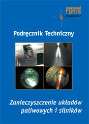 Podręcznik Forte zanieczyszczenia silników i układów paliwowych.