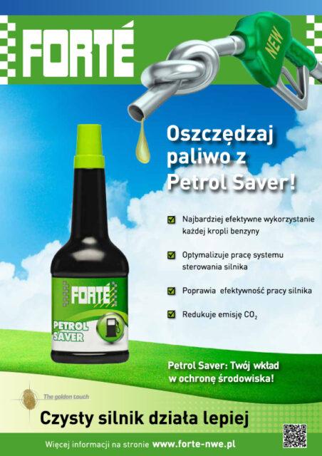 Forte Petrol Saver A4 ulotka  (PL)