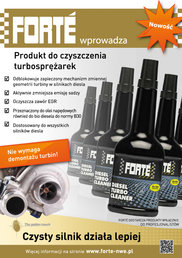 Forte Diesel Turbo Cleaner A4 (PL)